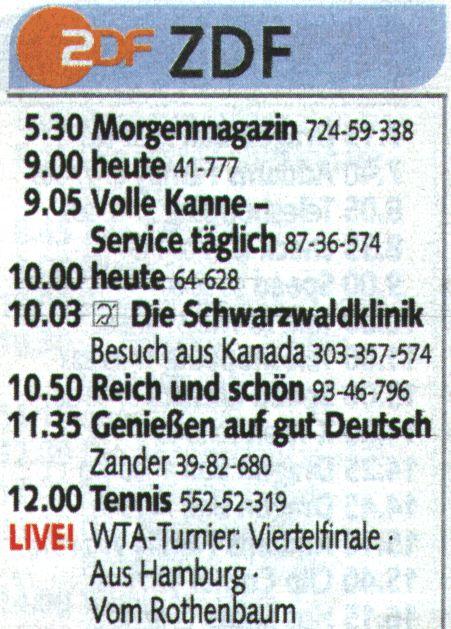 tv guide deutschland
